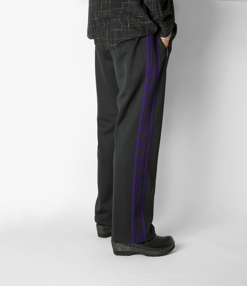 Needles Track Pant - Poly Smooth - Black