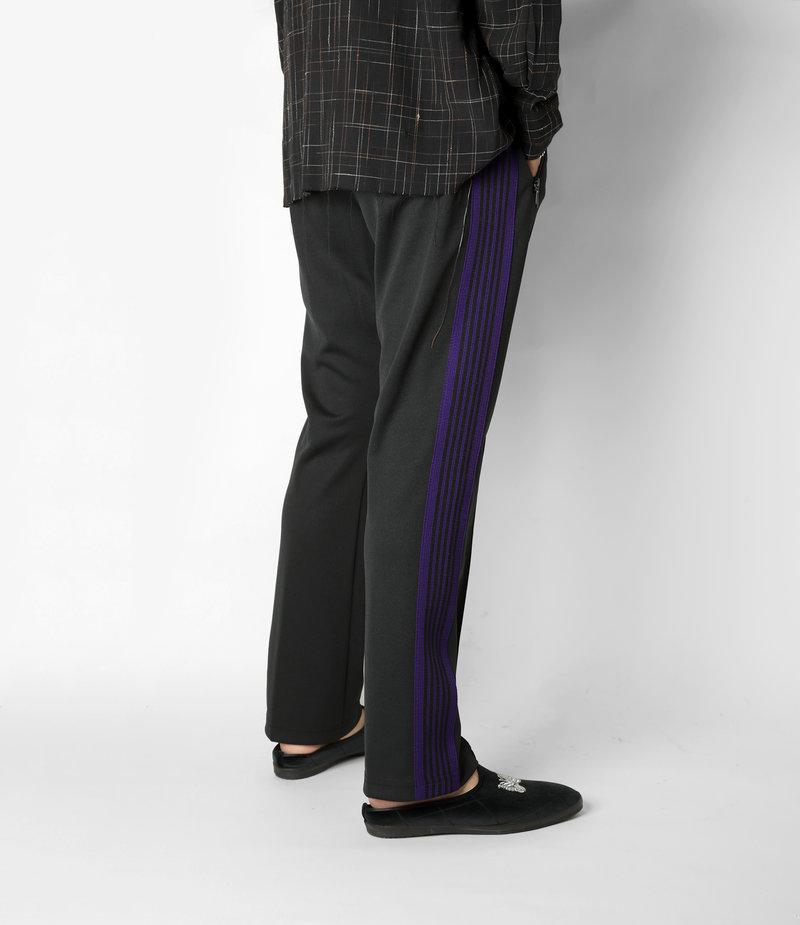 Needles Narrow Track Pant - Poly Smooth - Black