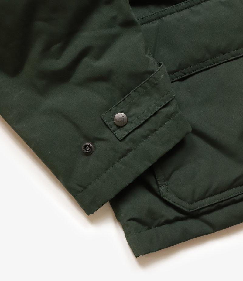 South2 West8 Carmel Down Jacket Wax Coating - Green