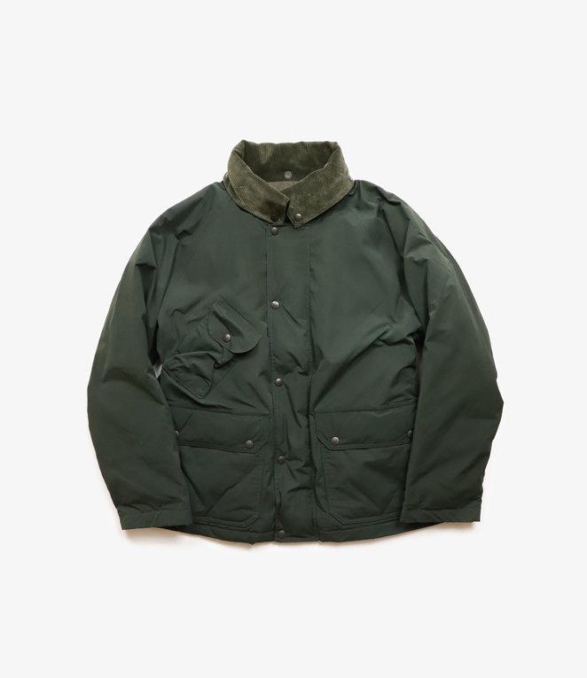 South2 West8 S2 : Carmel Down Jacket Wax Coating - Green