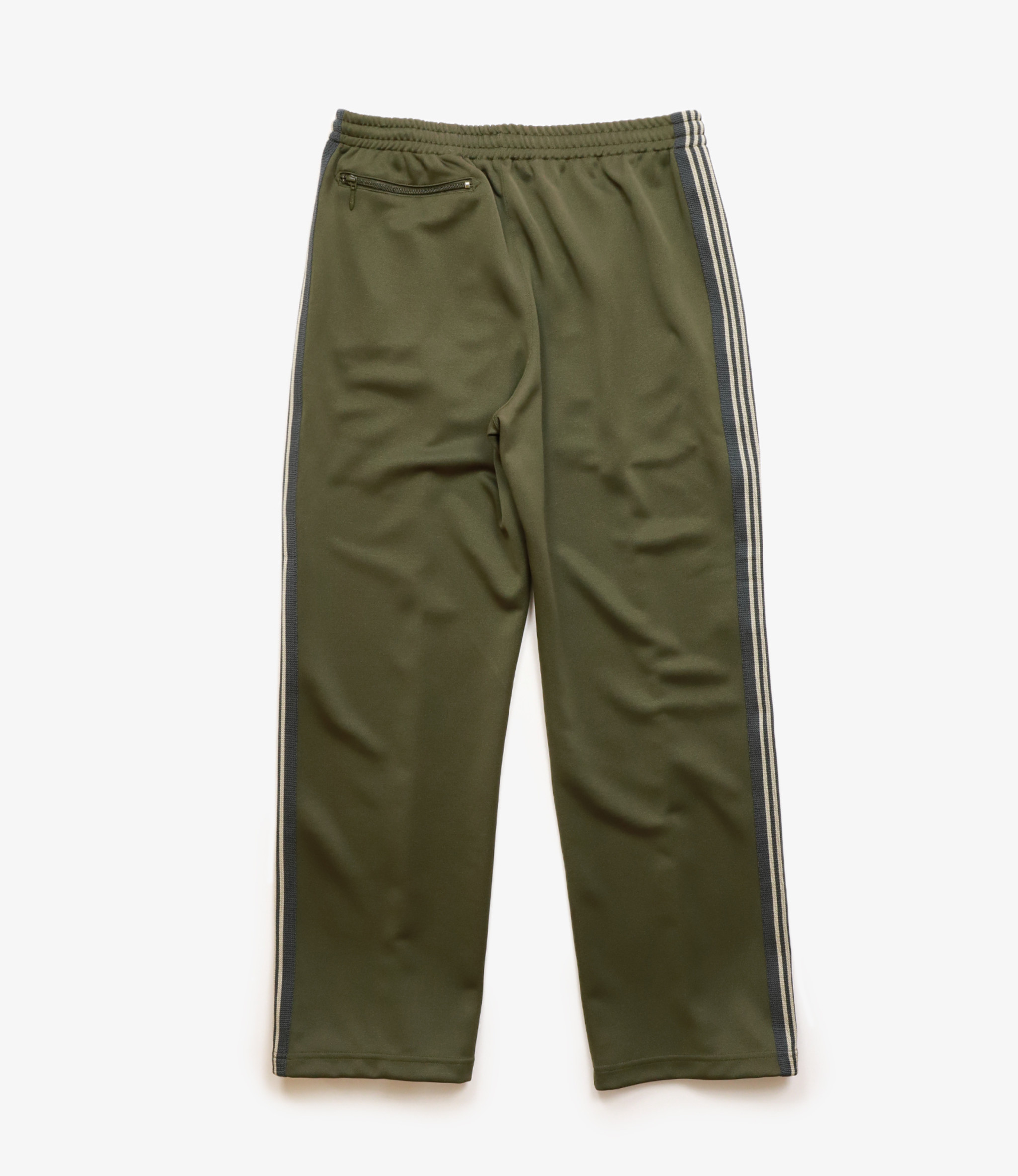Needles SHOP SPECIAL : Track Pant - Poly Smooth - Olive