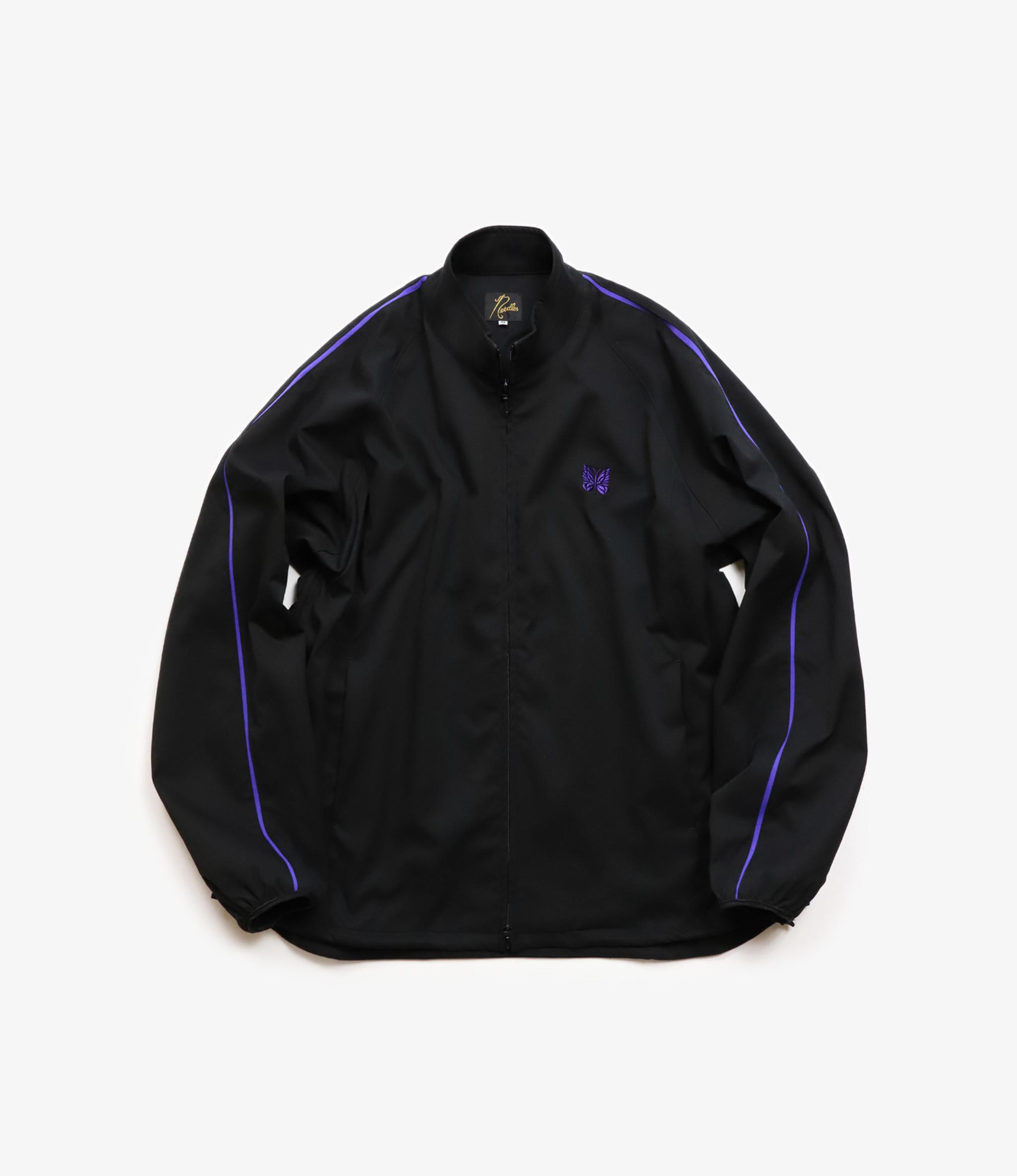 Needles Run-Up Jacket - Poly Dry Twill - Black