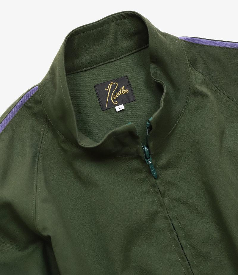 Needles Needles : Run-Up Jacket - Poly Dry Twill - Green