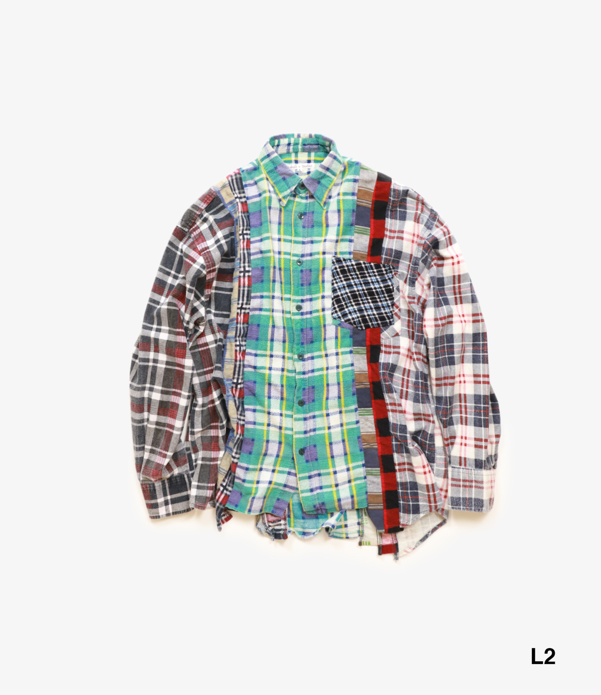 Needles Rebuild by Needles Flannel Shirt - 7 Cuts Shirt