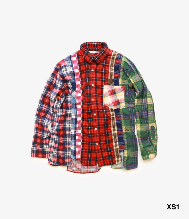 Rebuild by Needles Rebuild by Needles Flannel Shirt - 7 Cuts Shirt