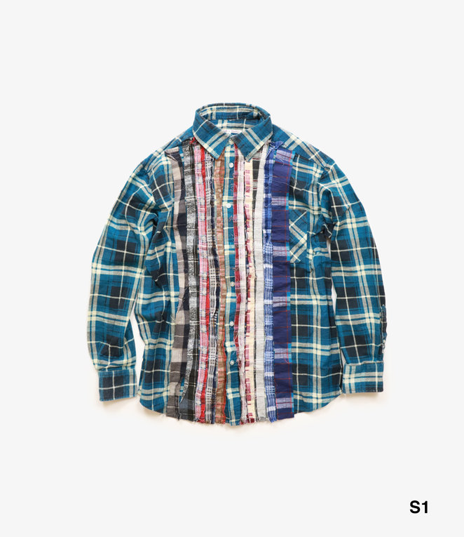Needles Rebuild by Needles Flannel Shirt - Ribbon Shirt