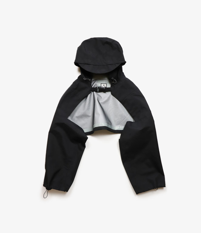 Sasquatchfabrix. Three Layered Cape - Black