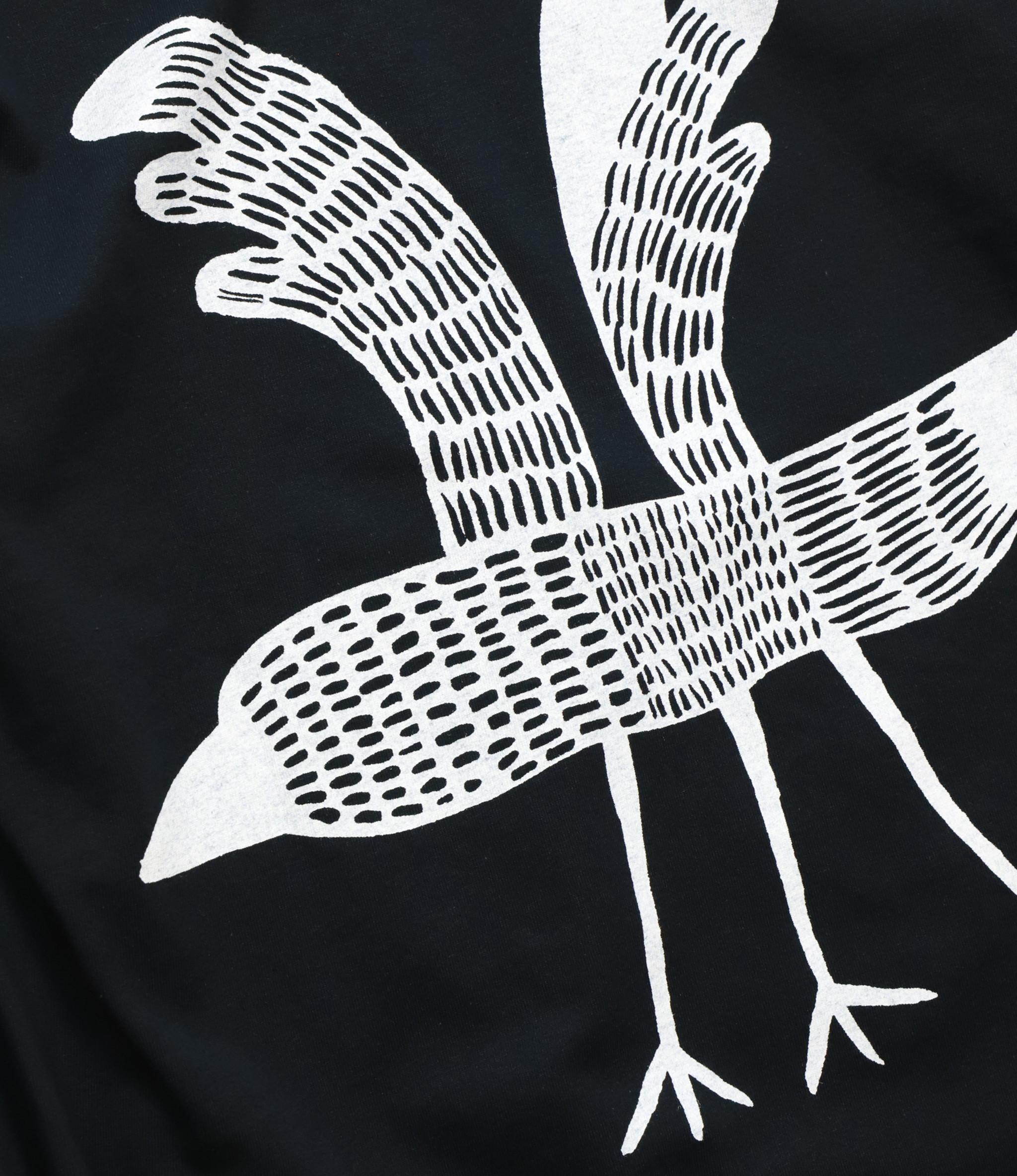 Sasquatchfabrix. Crow L/S Tee - Black