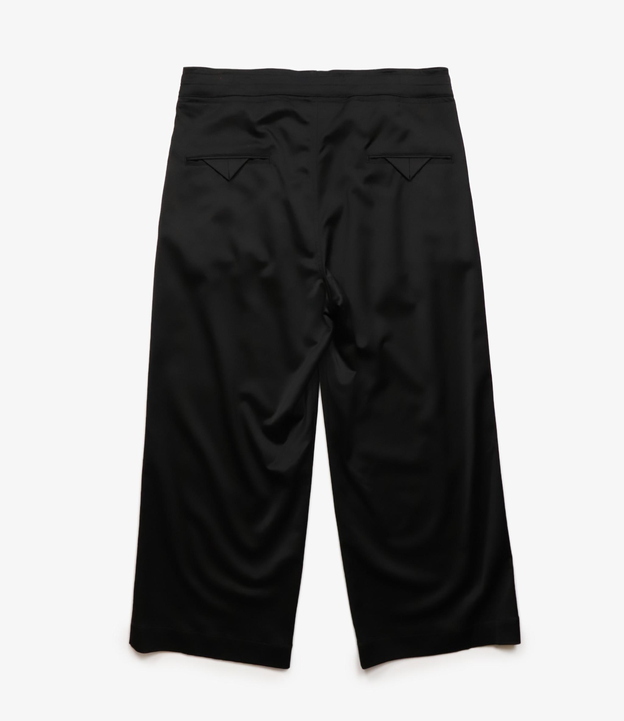 Sasquatchfabrix. Crow Pattern Easy Pants - Black