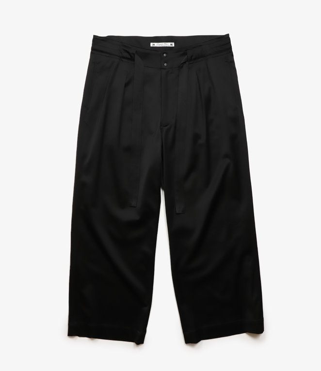 Sasquatchfabrix. Crow Pattern Easy Pants - Black