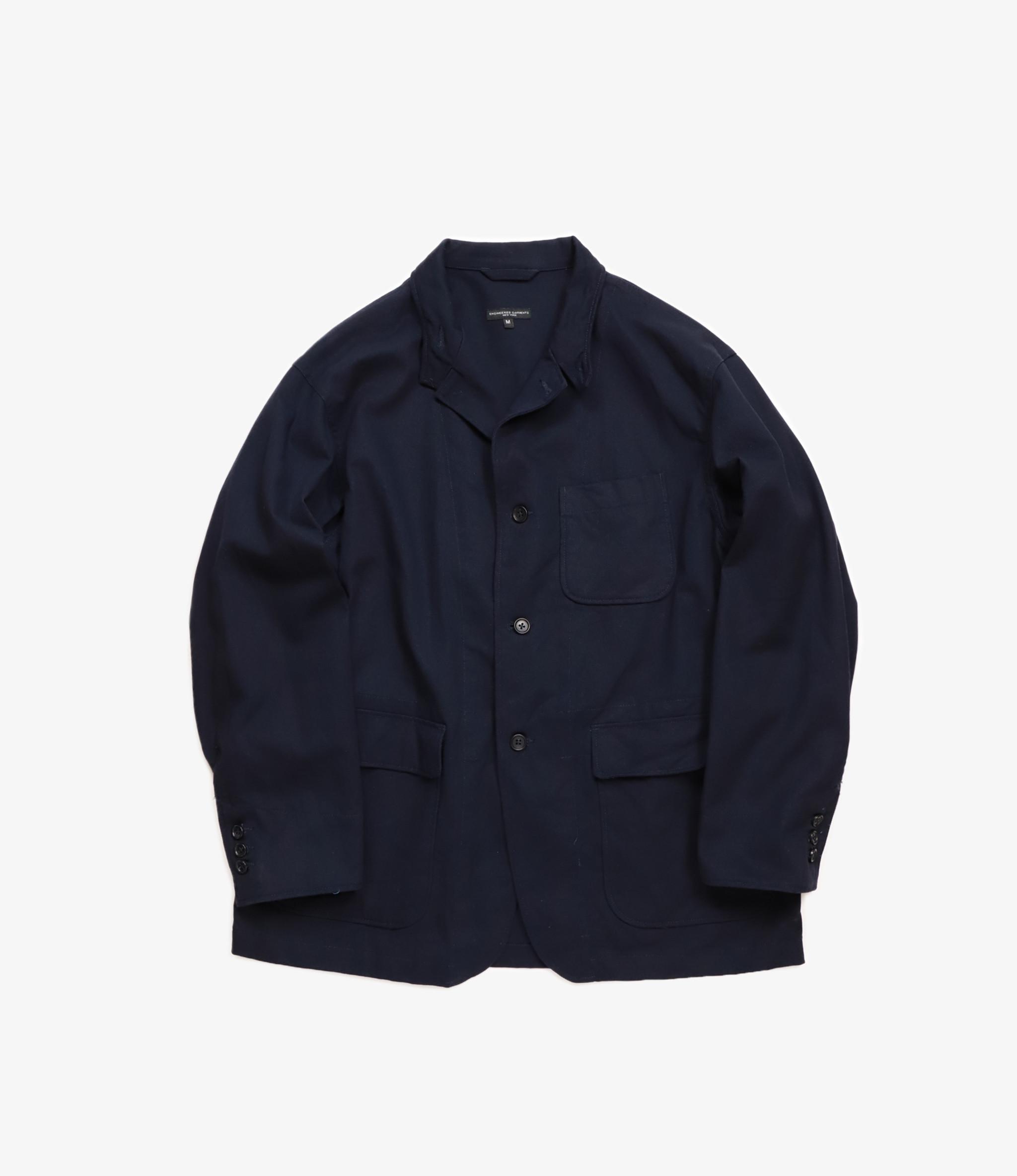 engineered garments no collar jacket engineered garments loiter jacket