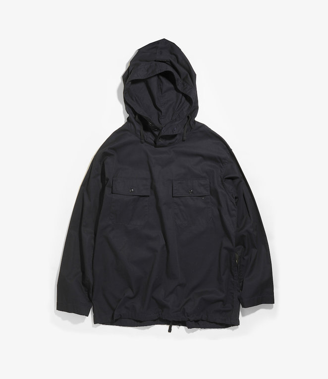 Engineered Garments Cagoule Shirt - Dark Navy Cotton Fineline Twill