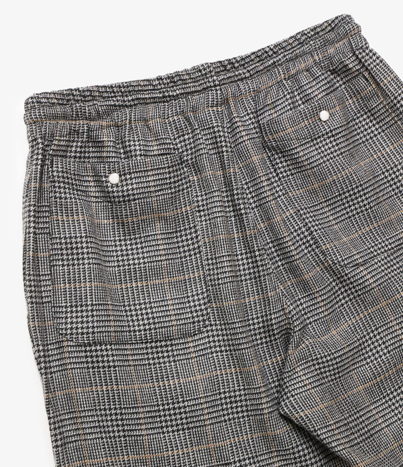 Needles String Cowboy Pant - Pe/R/W/Pu Glen Plaid - Grey