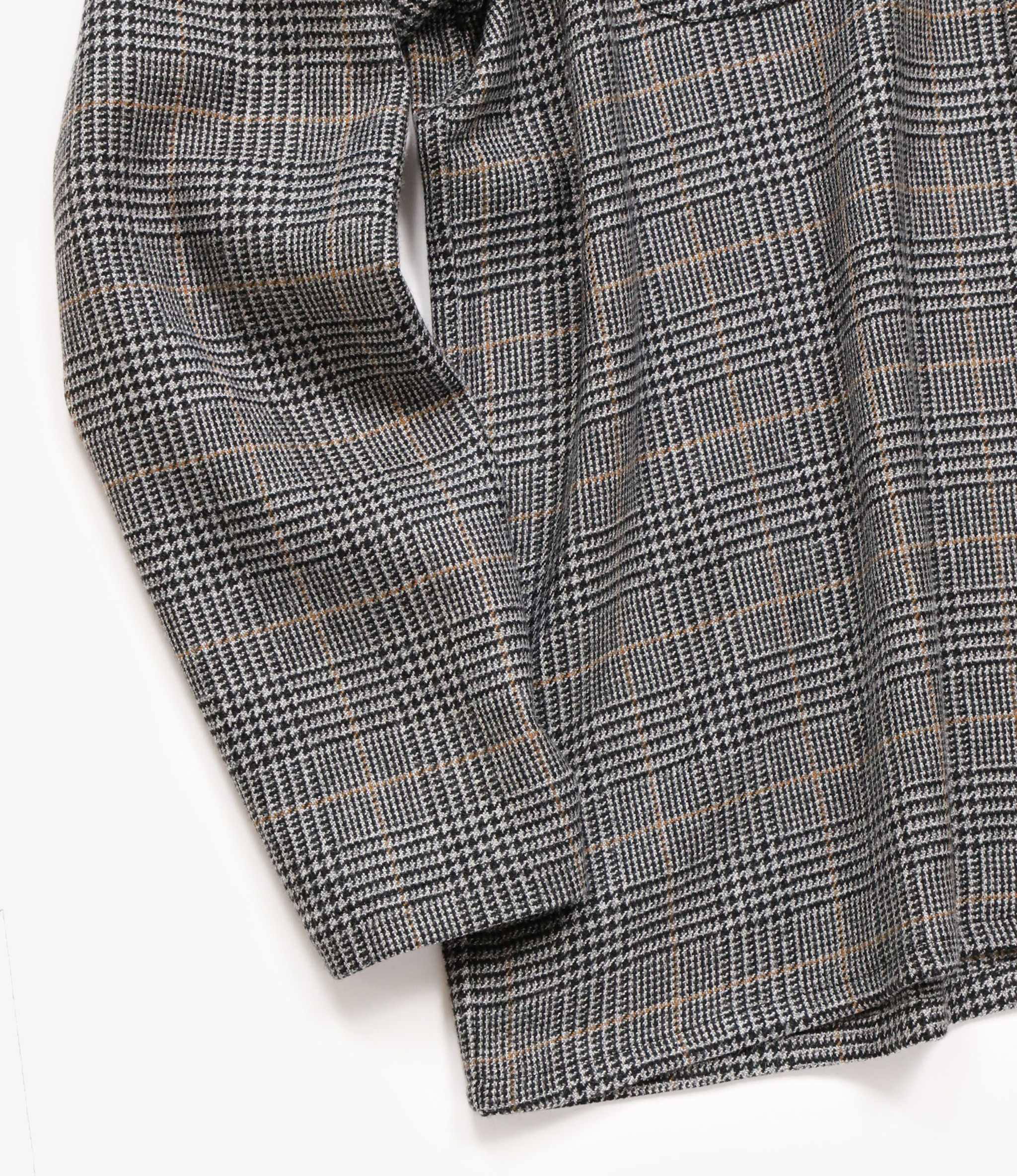 Needles One-Up Cowboy Shirt - Pe/R/W/Pu Glen Plaid - Grey