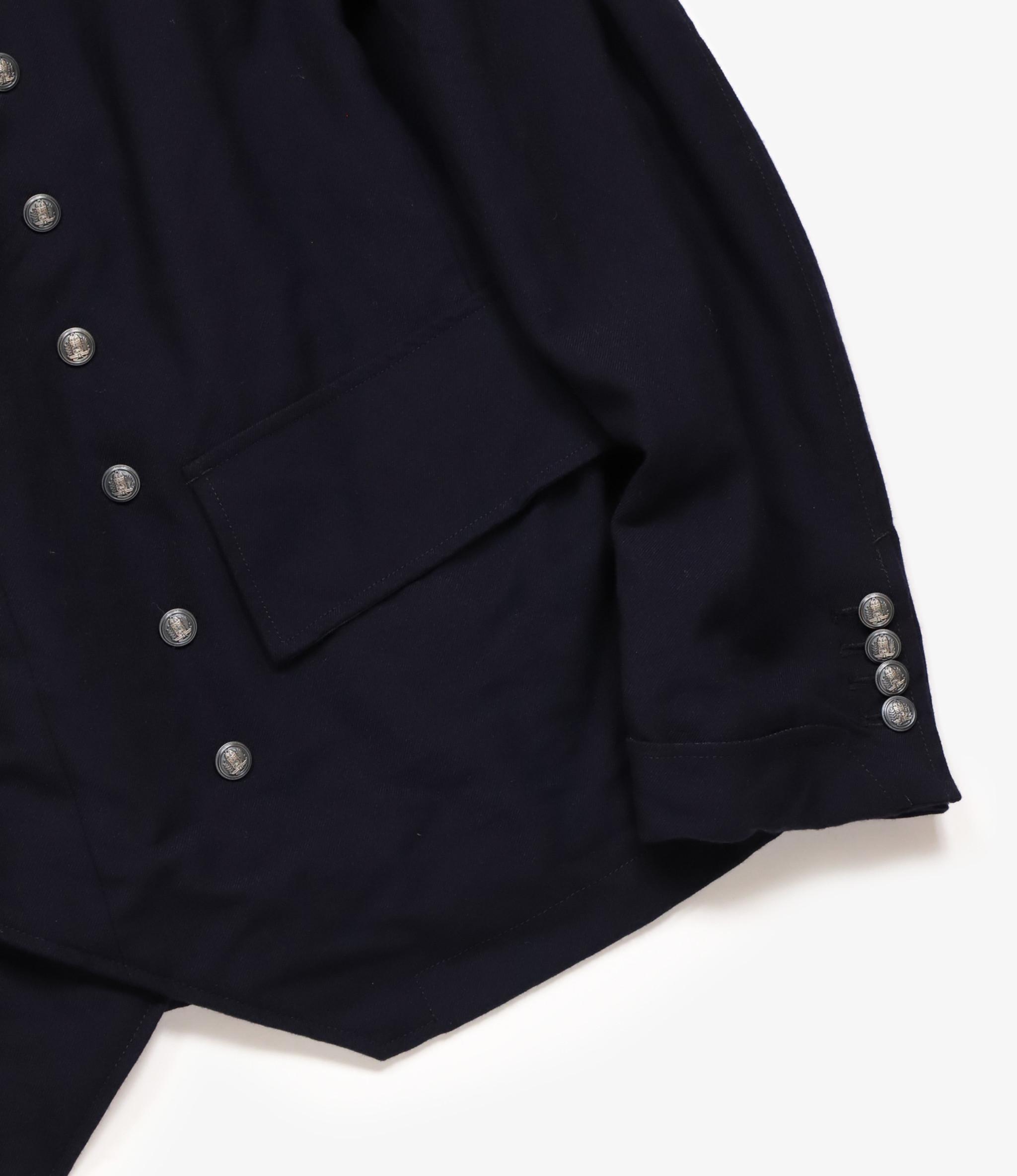 Engineered Garments Chelsea Jacket - Dark Navy Wool Uniform Serge
