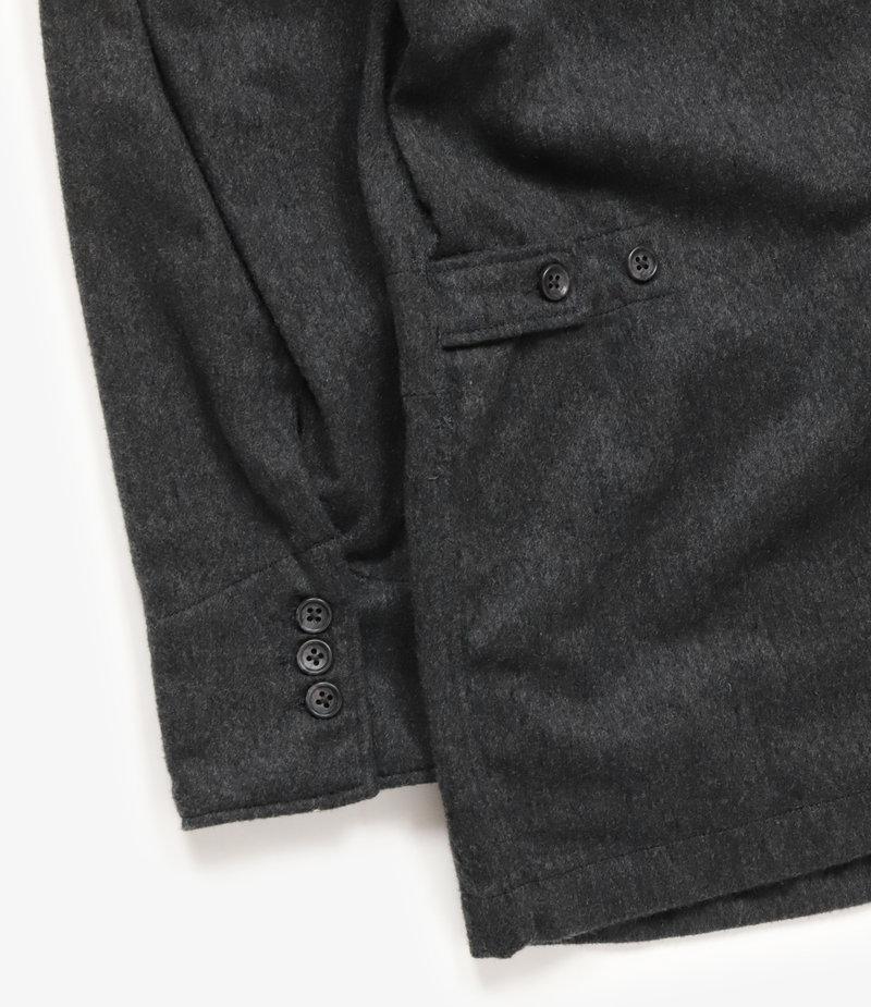 Engineered Garments DL Jacket - Grey Wool Cotton Flannel