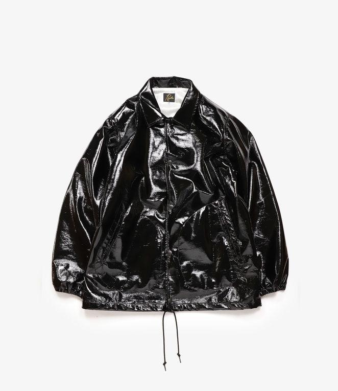 Needles Coach Jacket Patent Leather - Black