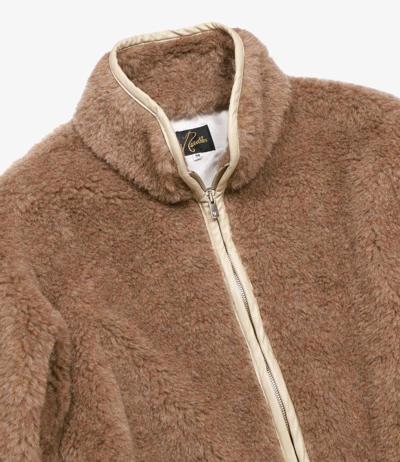 Needles Shearling Jacket - Wp/W Shaggy - Beige