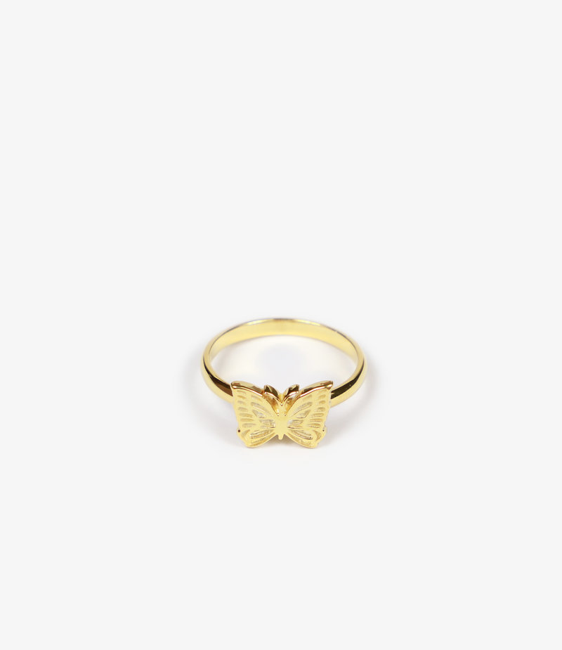 Needles Ring - Gold Plate - Papillon
