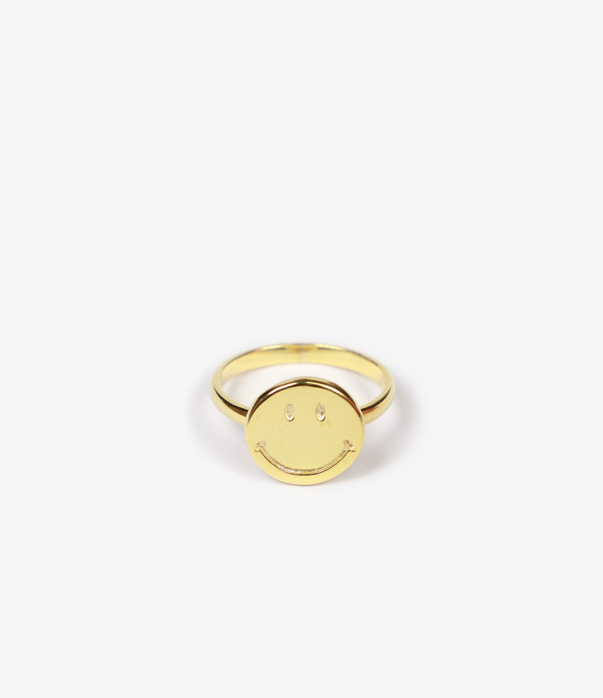 Needles Ring - Gold Plate - Smile