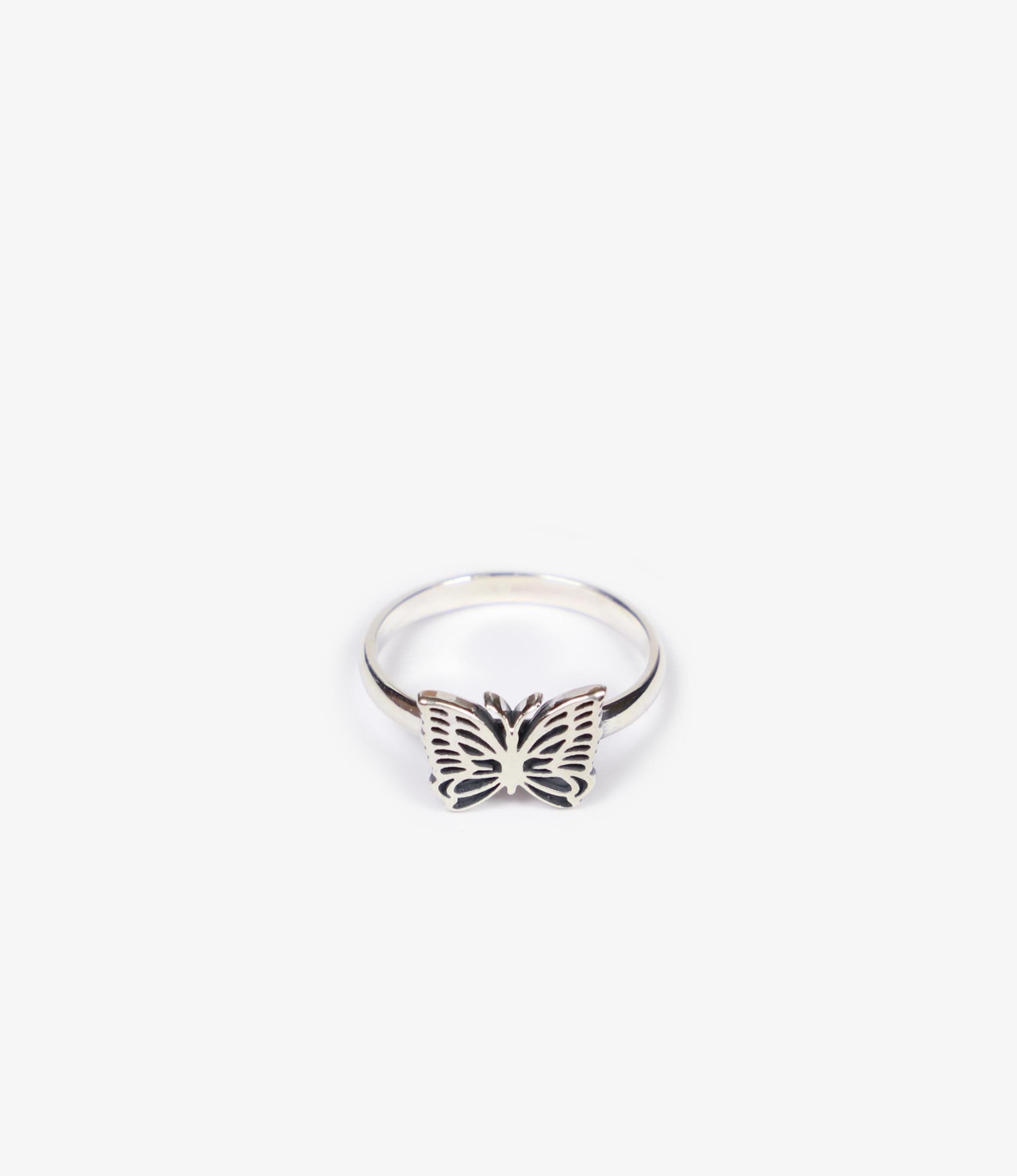 Needles Ring - 925 Silver - Papillon