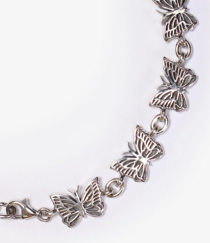 Needles Bracelet - 925 Silver - Papillon Large