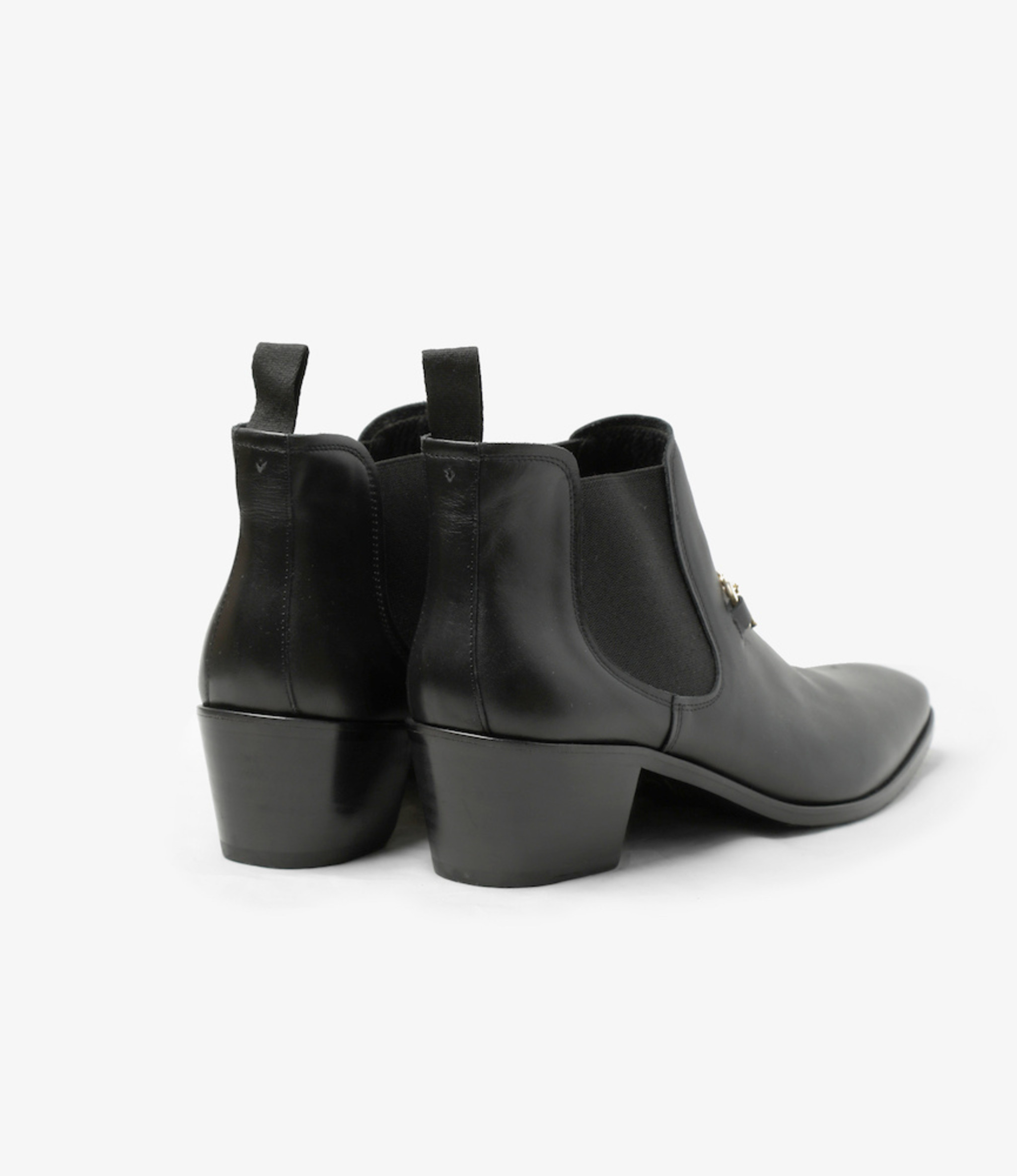 Needles Heeled Chelsea Bit Boot - Black
