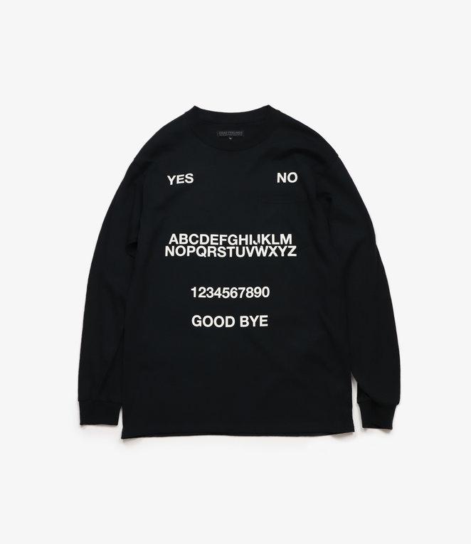 L/S Pocket T-Shirt - Black - Ouija