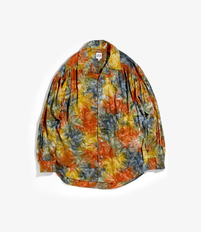 AïE Painter Shirt - Multi Color Cotton Print Abstract Batik