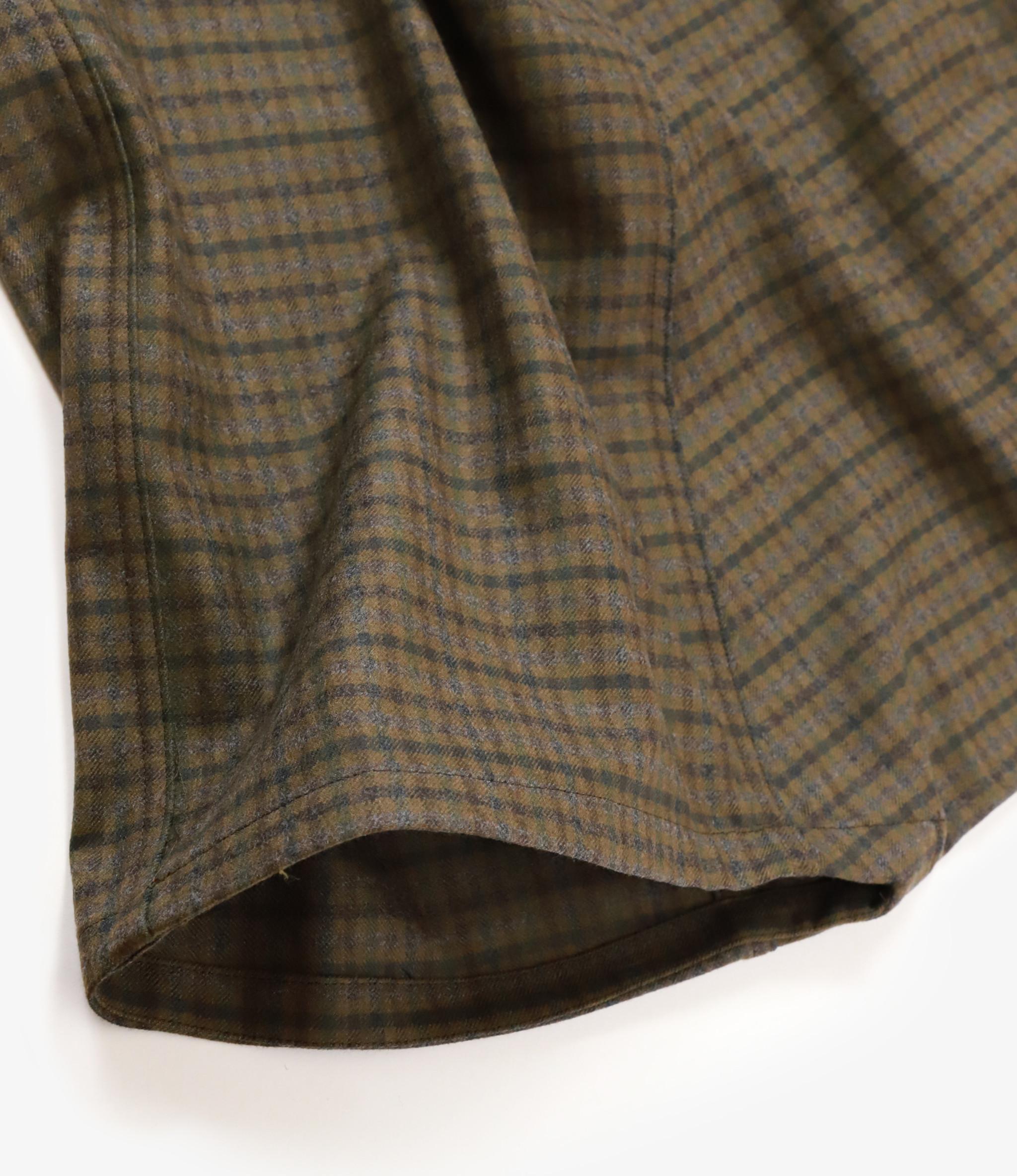 Sasquatchfabrix. Sarrouel Pants - Dark Green Check