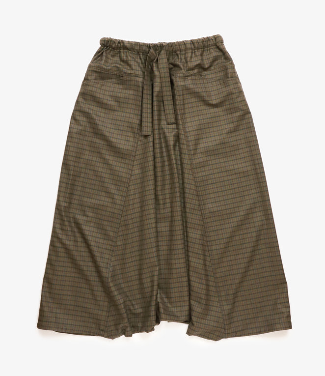 Sasquatchfabrix. Sarrouel Pants - Dark Green Check