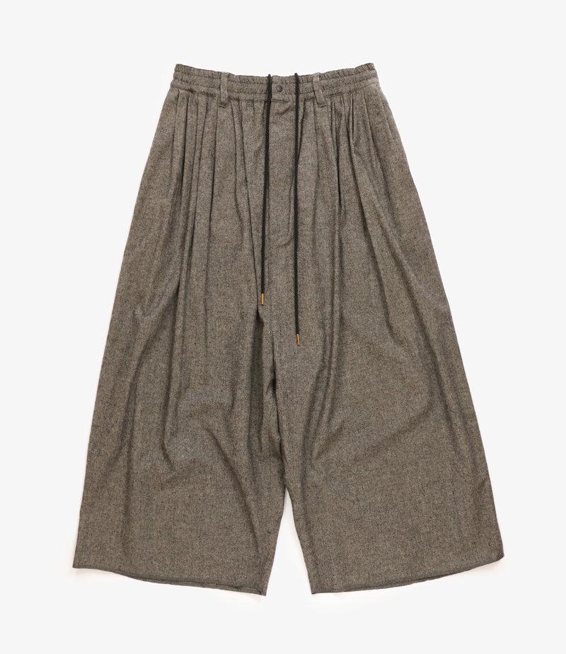 Sasquatchfabrix. Big Silhouette Pants - Black/White
