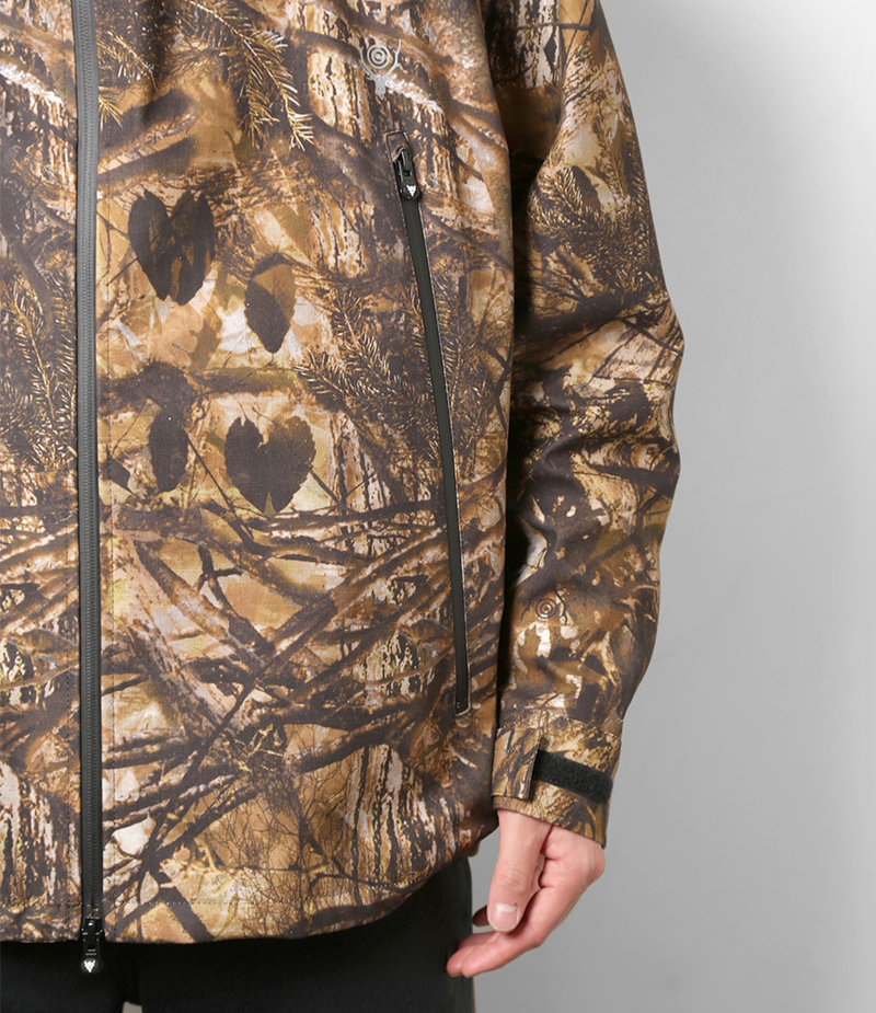 South2 West8 Weather Effect Jacket - Water Proof / S2W8 Camo - Khaki