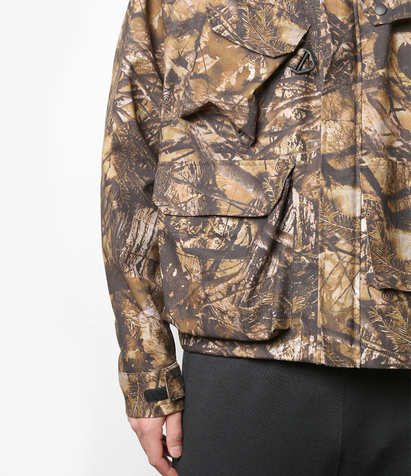 South2 West8 River Trek Jacket Water Proof / S2W8 Camo - Khaki