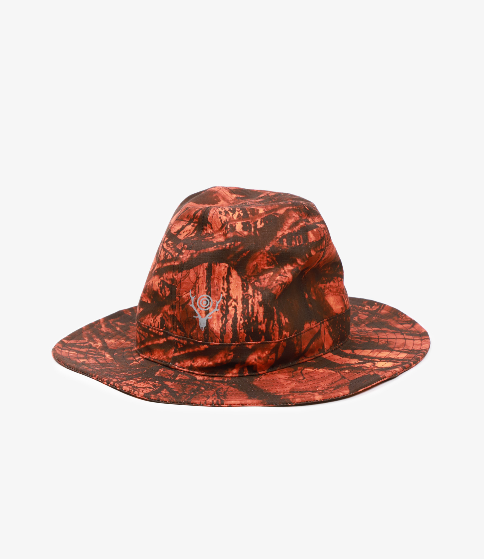 South2 West8 Crusher Hat - S2W8 Camo / Water Proof - Orange