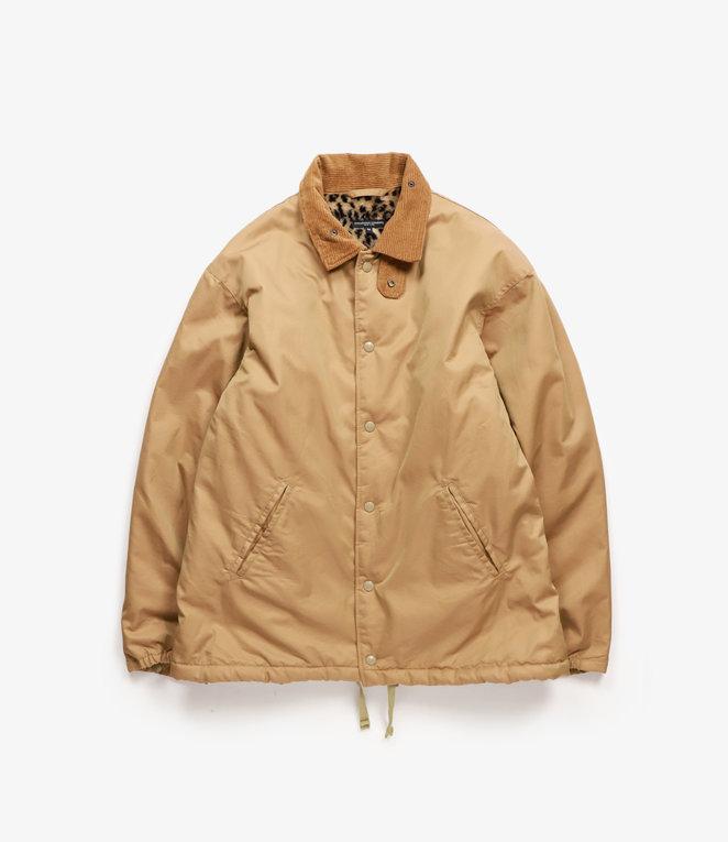Engineered Garments Ground Jacket - Orange PC Iridescent Twill