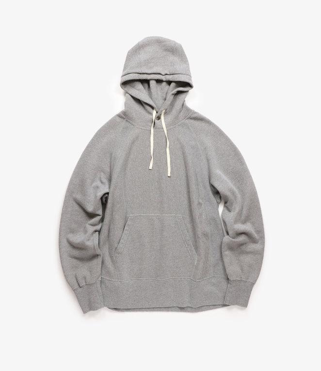 Engineered Garments Raglan Hoody - Heather Grey PC Fleece