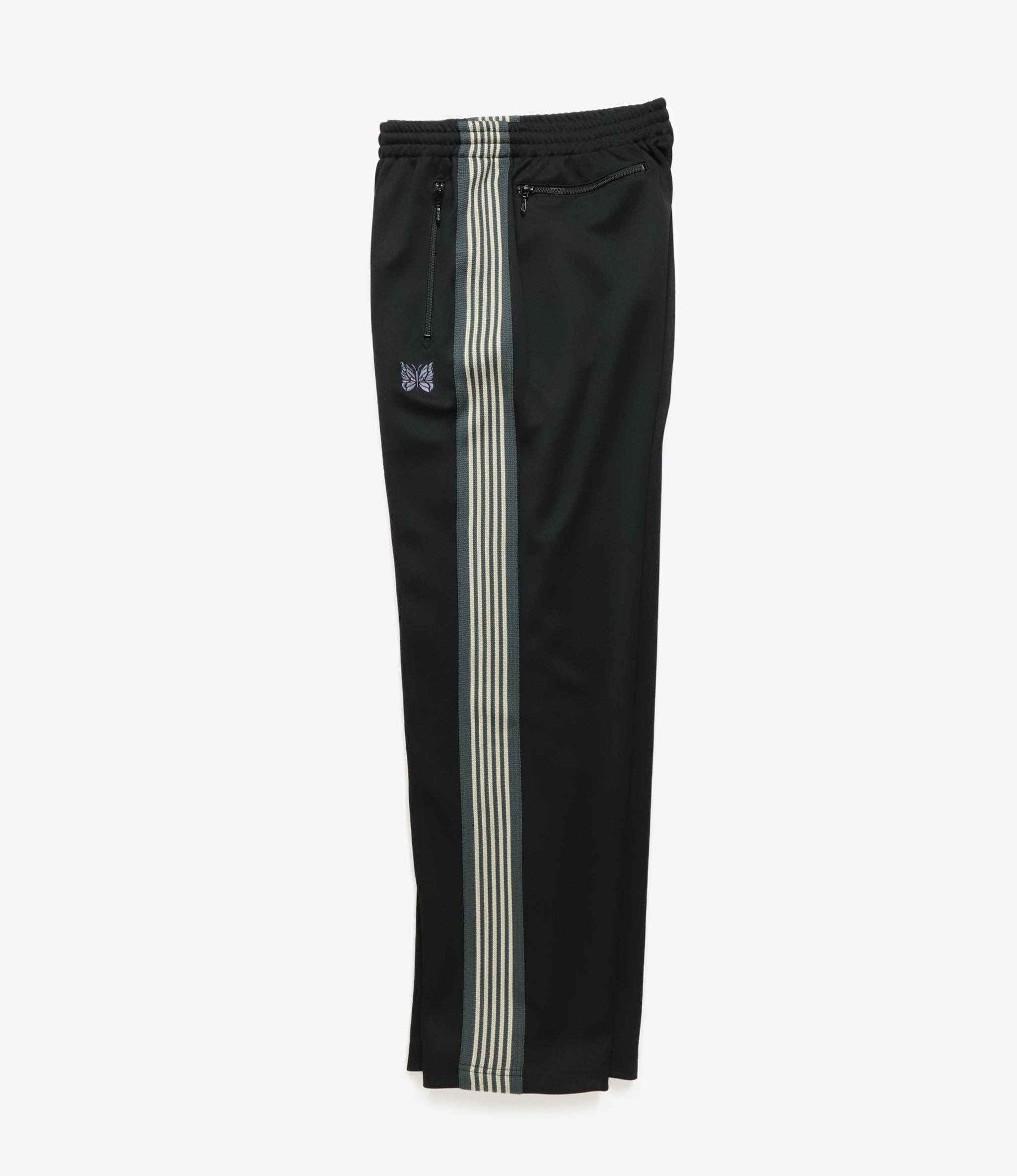Needles SHOP SPECIAL : Track Pant - Poly Smooth - Black