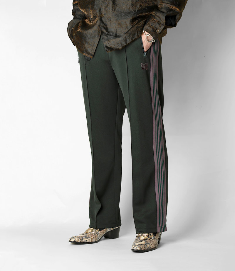 Needles Track Pant - Poly Smooth - Green