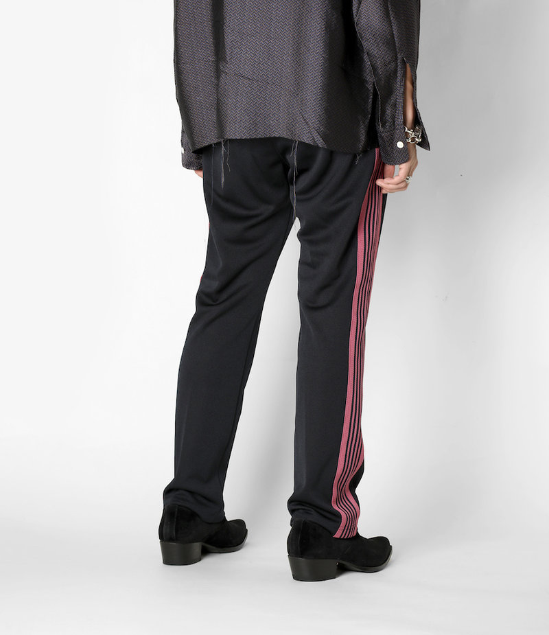 Needles Narrow Track Pant - Poly Smooth - Navy