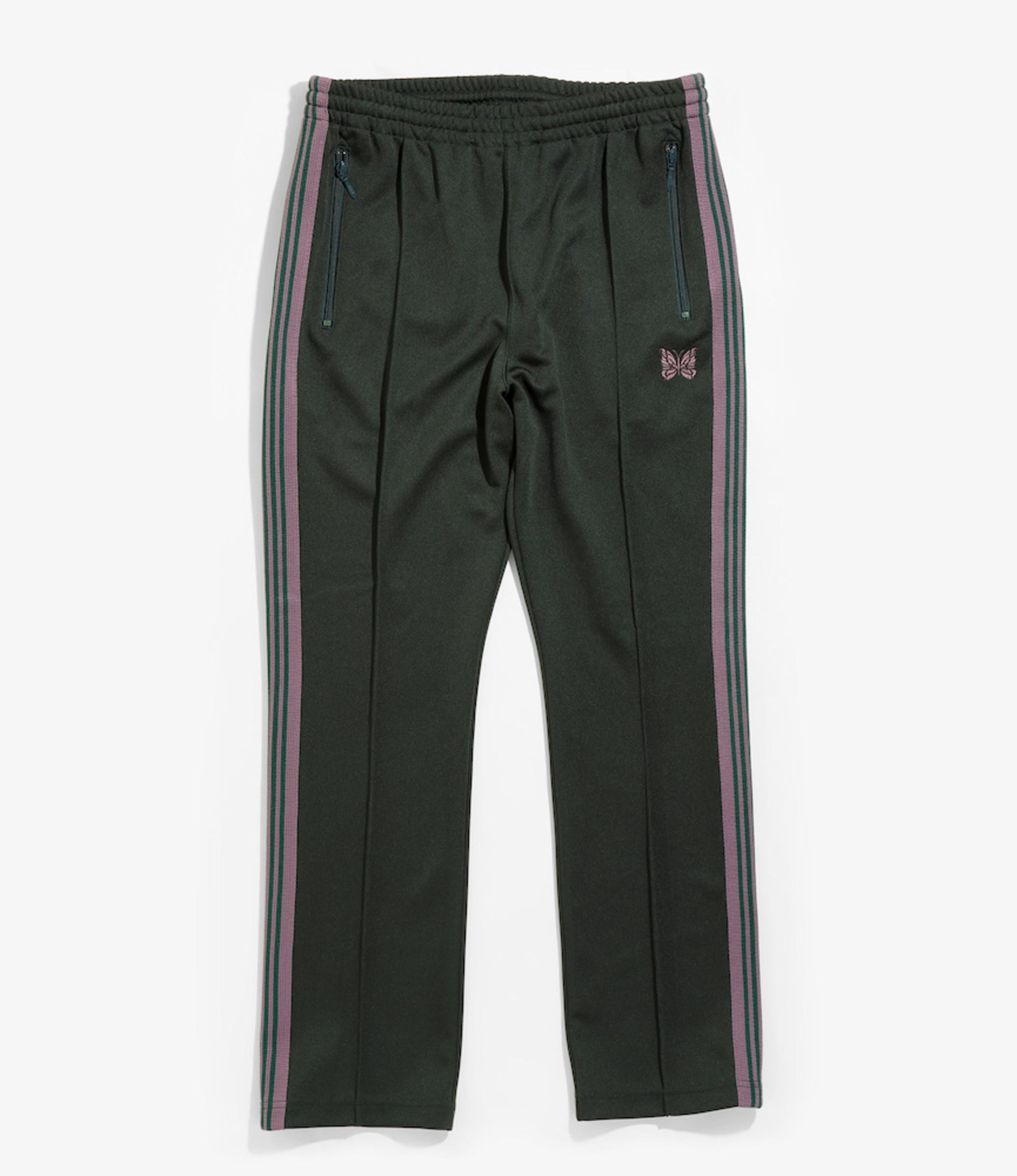 Needles Narrow Track Pant - Poly Smooth - Green