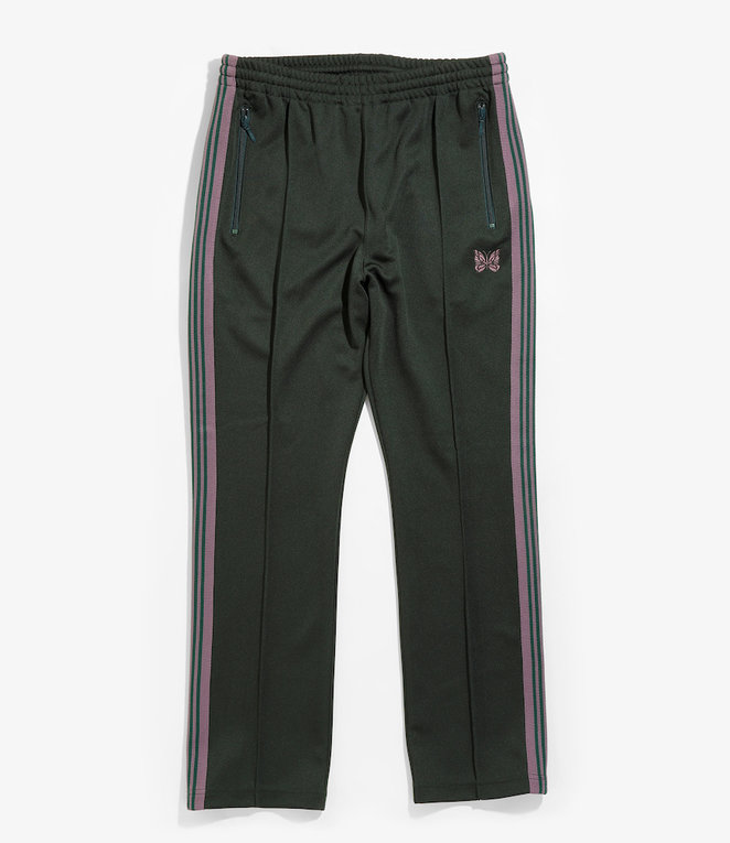 Needles Narrow Track Pant - Poly Smooth - Green