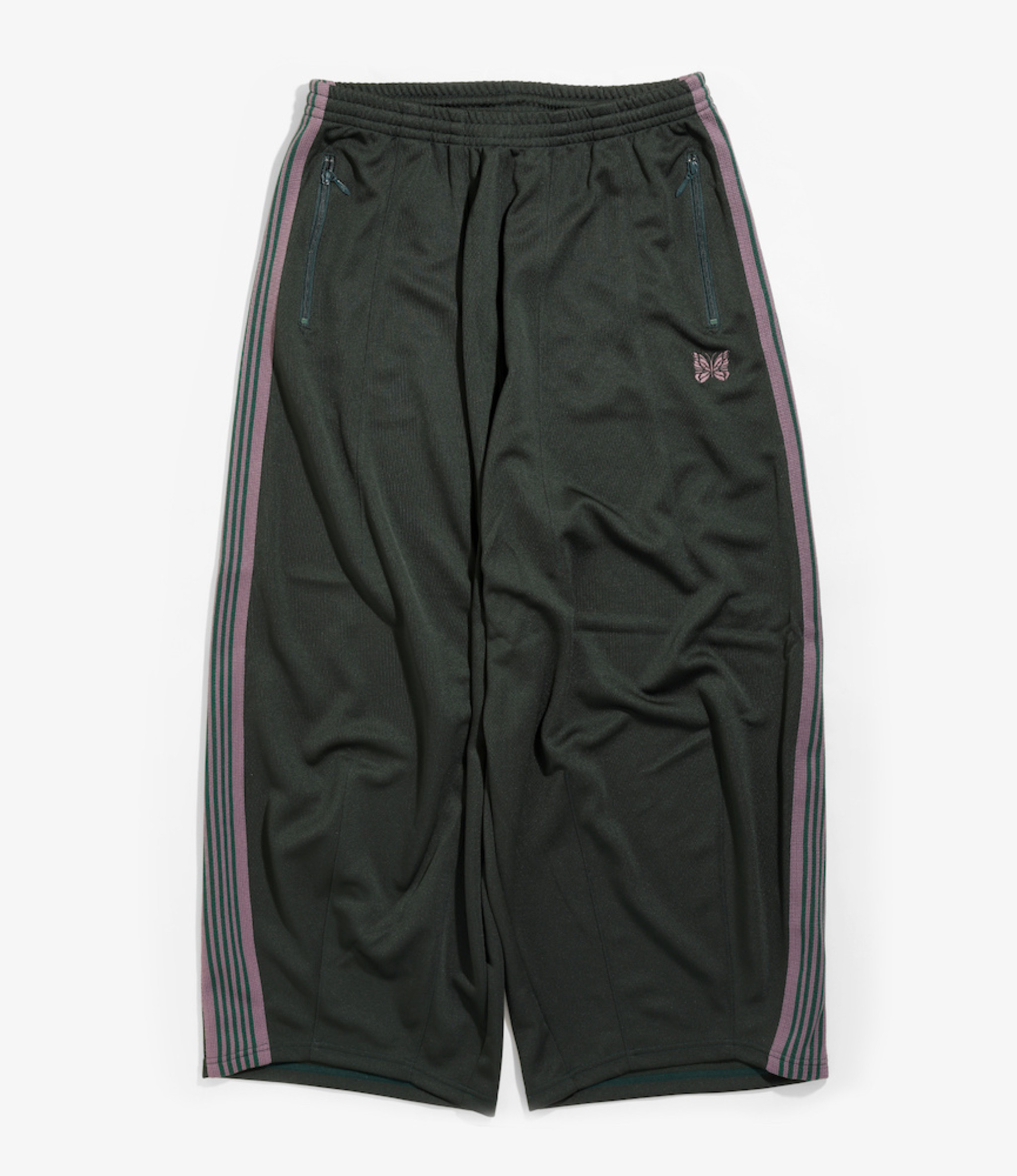 Needles H.D. Track Pant - Poly Smooth - Green