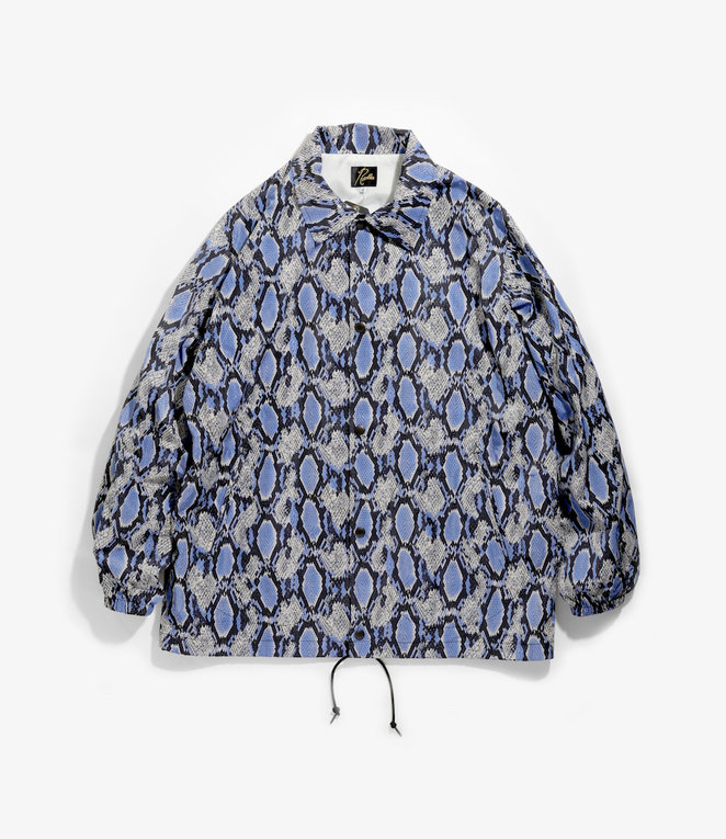 Needles Coach Jacket - Poly Taffeta / Print - Python