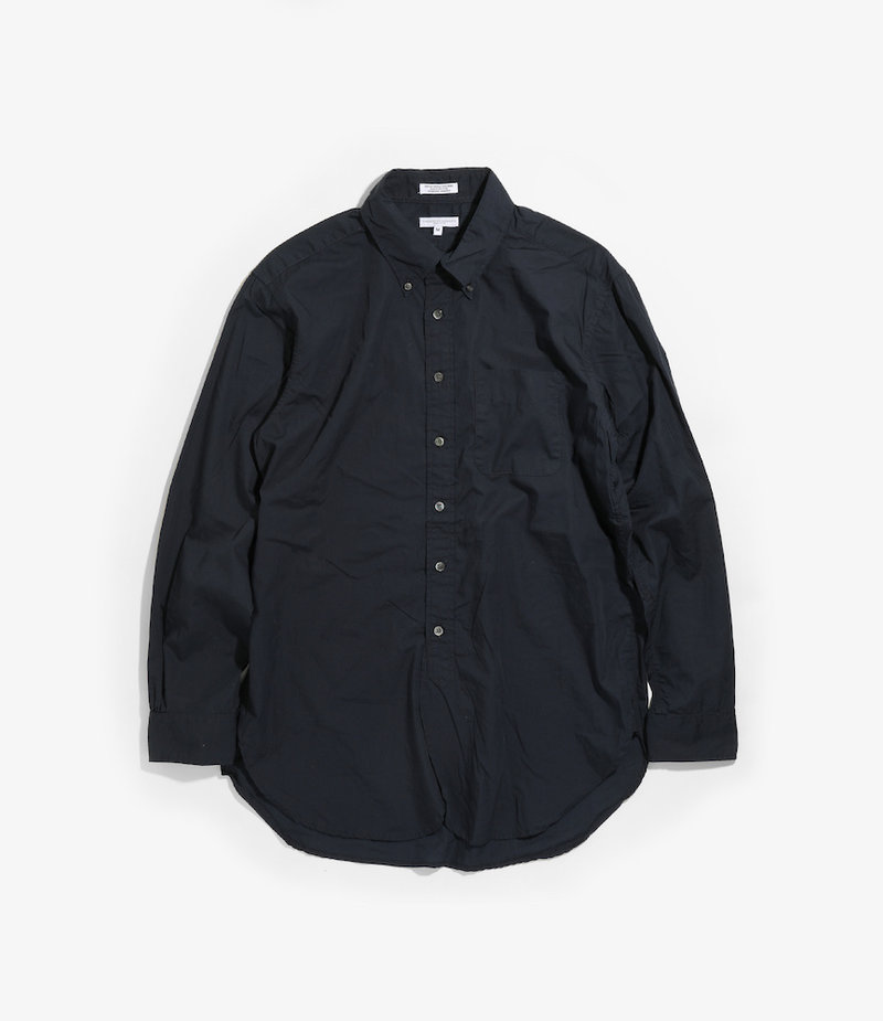 Engineered Garments 19 Century BD Shirt - Dk.Navy 100's 2Ply Broadcloth