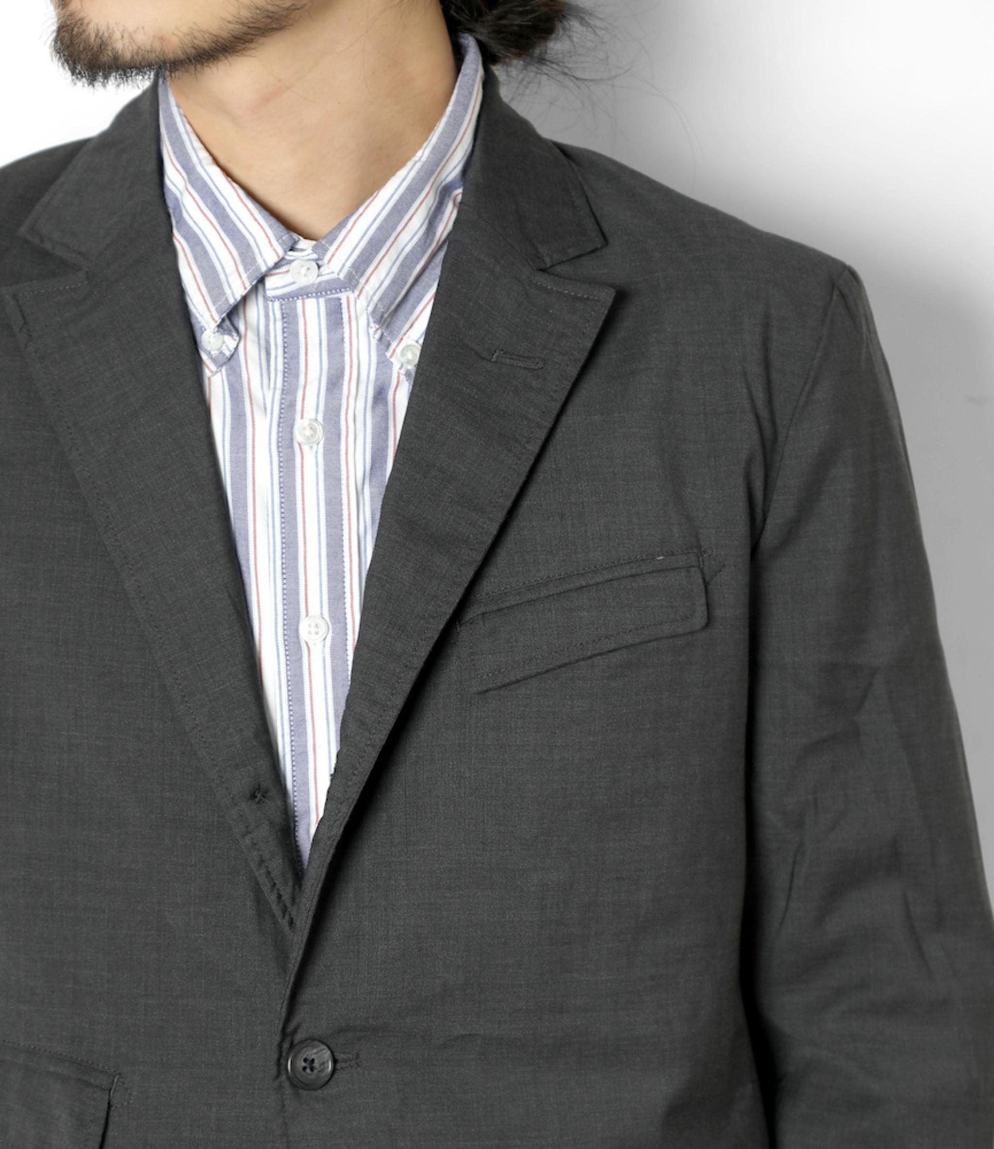 Engineered Garments Andover Jacket - Grey Tropical Wool