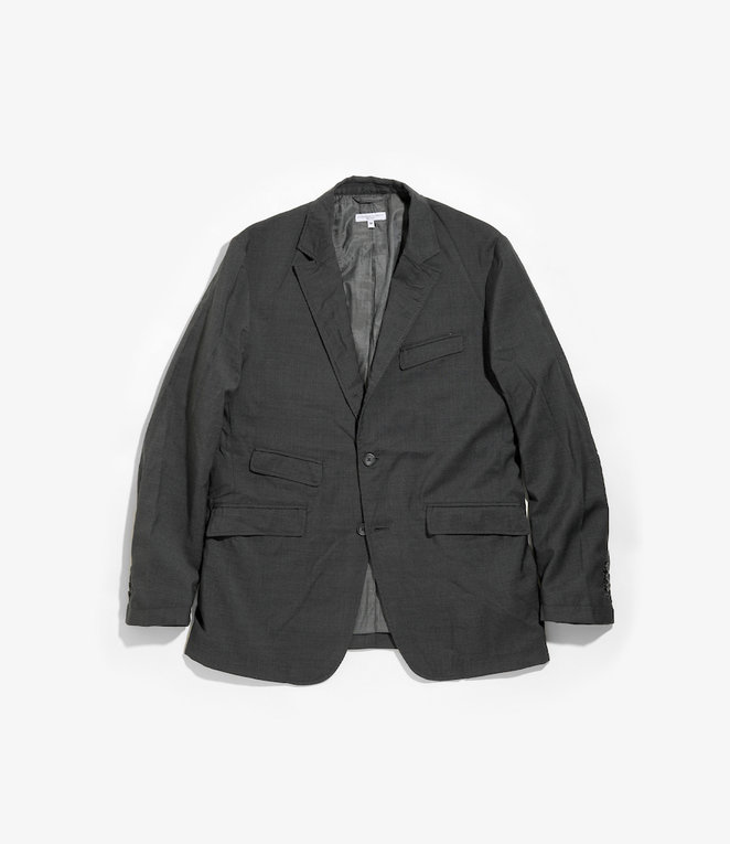 Engineered Garments Andover Jacket - Grey Tropical Wool