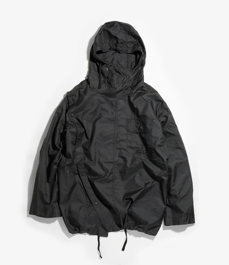 Engineered Garments Sonor Shirt Jacket - Black Nylon Micro Ripstop