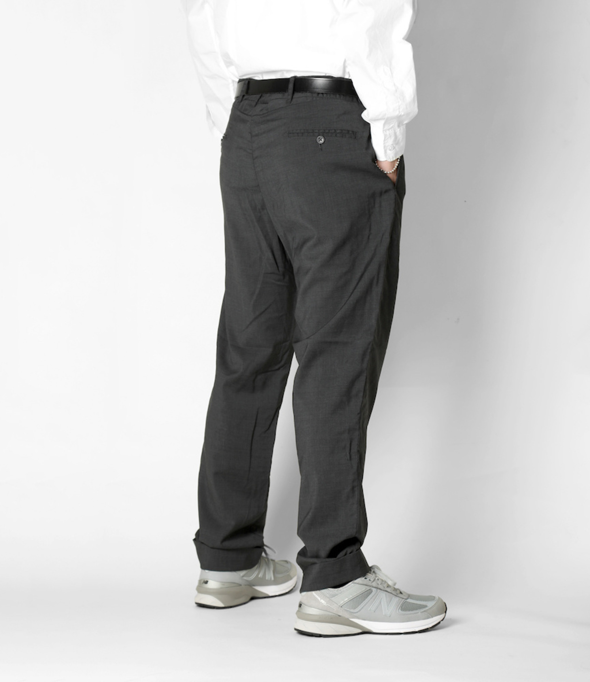 Engineered Garments Andover Pant - Grey Tropical Wool