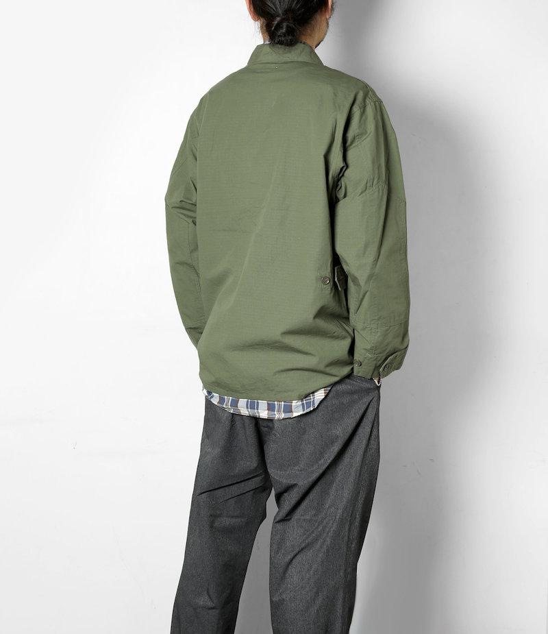 Engineered Garments BDU Jacket - Olive Cotton Ripstop